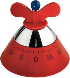 Minutnik Alessi mechaniczny czerwony (A09 R)
