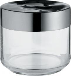 Alessi Pojemnik hermetyczny Julieta szklany z stalową pokrywką mały (LC07)