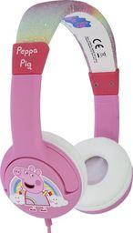 Słuchawki OTL Kids Peppa Pig Glitter Rainbow