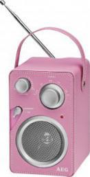 Radio AEG MR 4144 RÓŻOWE