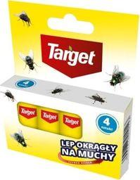 Target Lep Okrągły Na Muchy Taśma 4 szt. Target