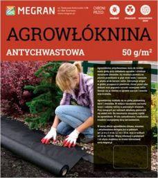 Megran Agrowłóknina 50g/m2 antychwastowa czarna 1,6 mx5 mb