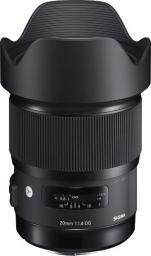 Obiektyw Sigma A 20 mm f/1.4 DG HSM Nikon (OSN20/1.4 A DG HSM)