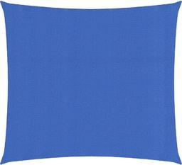 vidaXL Żagiel przeciwsłoneczny, 160 g/m, niebieski, 2x2 m, HDPE