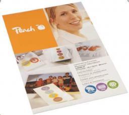 Peach Folia do laminowania wizytówek 60x90mm, 125mic, 100 Arkuszy (510328)