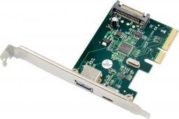 Kontroler ProXtend PCIe 3.0 x4 - USB 3.2 Gen 2 + USB-C (PX-UC-86248)