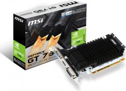 Karta graficzna MSI GeForce GT 730 Low Profile 2GB DDR3 (N730K-2GD3H/LP)