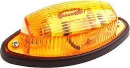 FRISTOM Lampa obrysowa pomarańczowa z przewodem 2x0,75 mm