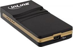 InLine Zewnętrzna karta graficzna do laptopa na USB - DVI - VGA - HDMI (33283)