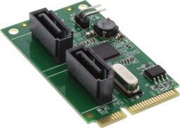 Kontroler InLine Mini-PCIe - 2x SATA III RAID (66907)