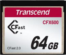 Karta pamięci Transcend Memory Stick 64GB SATA3 (TS64GCFX600)