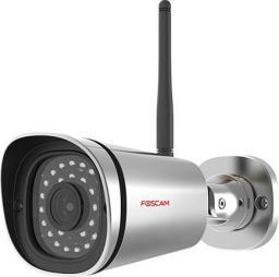 Kamera IP Foscam H.264 FI9800P WIFI 720P zewnętrzna srebrna