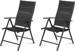 Fieldmann Krzesła ogrodowe składane, 2 sztuki (50003211)