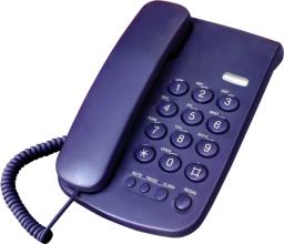 Telefon przewodowy Mescomp Leon
