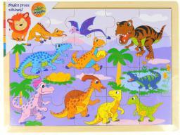 Brimarex Układanka z dinozaurami