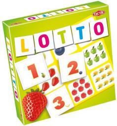 Tactic Gra Lotto liczby i owoce