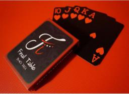 Bicycle QUINT Final Table Black Deck