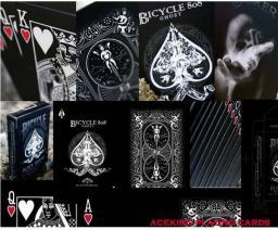 Bicycle Ghost Black Ellusionist