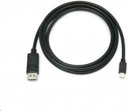 Kabel PremiumCord DisplayPort Mini - DisplayPort 1m czarny (kport2-01)