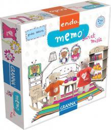 Granna Gra Endo Memo Świat Misia G-0220