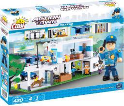 Cobi Klocki Action Town Policja 420 el. - 1574