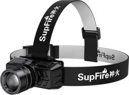 Supfire Latarka czołowa HL50 USB 300lm 200m Zoom
