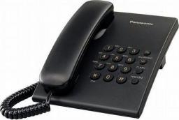 Telefon stacjonarny Panasonic KX-TS500PDB Czarny