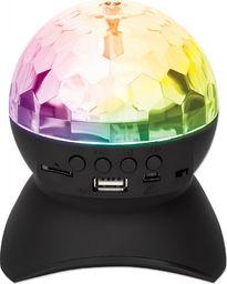Manhattan Kula Disco LED z Głośnikiem Bluetooth MP3 USB/MicroSD Radio