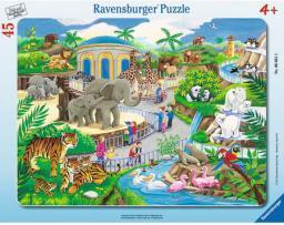 Ravensburger 45 Zwiedzanie Zoo  - 066612