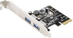 Kontroler Evolveo PCIe x1 - 2x USB 3.2 Gen 1 (KAE-2x-USB-PCIe)