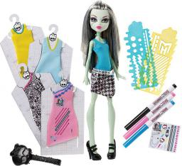 Mattel Lalka Projektuj z Frankie DNM27