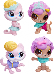 Hasbro Littlest Pet Shop modne zwierzaki -B4847