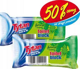 Tytan KOSTKA toaletowa WC TYTAN 3w1 LEŚNY ZAPAS 50%CENY