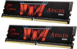 Pamięć G.Skill Aegis, DDR4, 8 GB, 2400MHz, CL15 (F4-2400C15D-8GIS)