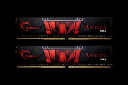 Pamięć G.Skill Aegis, DDR4, 16GB,2400MHz, CL15 (F4-2400C15D-16GIS)