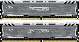 Pamięć Ballistix Ballistix Sport LT, DDR4, 32GB,2400MHz, CL17 (BLS2C16G4D240FSB)