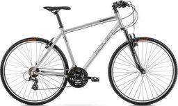 """Romet Rower crossowy Romet Orkan M 2021 + Zabezpieczenie rowerowe 19"""""""