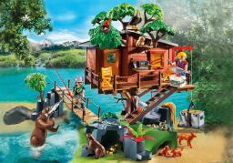 Playmobil Przygoda z domkiem na drzewie - 5557