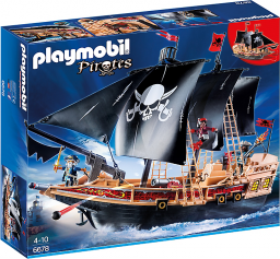 Playmobil Statek piracki (6678)