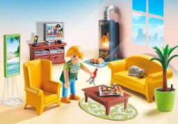 Playmobil Pokój dzienny z kominkiem (5308)