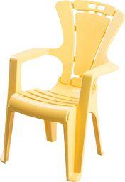 Krzesełko dziecięce antypoślizgowe żółte