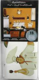 RoomMates Szef kuchni poleca - naklejki wielokrotnego użytku RMK1255SCS