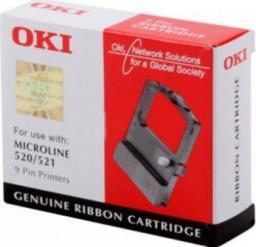 OKI Taśma do drukarki Microline 520 / 521 czarna (09002315)