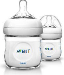 Avent 2 Butelki dla niemowląt Natural (SCF690/27) 125ml, 0m+