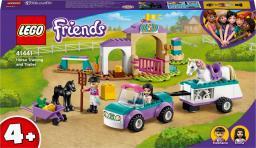 LEGO Friends Szkółka jeździecka i przyczepa dla konia (41441)