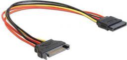 Gembird Kabel przedłużacz SATA 15 pin męski > SATA 15 pin żeński 30cm (CC-SATAMF-01)