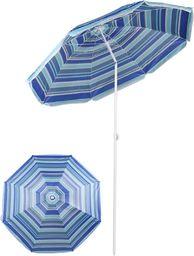 Royokamp  Parasol plażowo balkonowy niebieski 180 cm