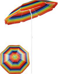 Royokamp  Parasol plażowo balkonowy wielokolorowy 180 cm