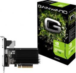 Karta graficzna Gainward GeForce GT 710 2GB DDR3 (64 bit) DVI, HDMI, VGA, Retail (426018336-3576)
