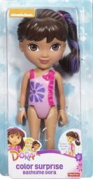 Mattel Kąpielowa Dora MIX - DGJ44